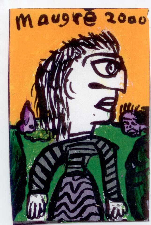 Figure in Striped Clothes (image 225)